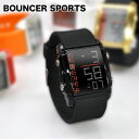 スタイリッシュなデザインと丈夫なボディが大人気BOUNCERSPROTS/バウンサースポーツ/メンズ腕時計