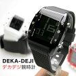 FRANC tempsフランテンプス デカデジ メンズ腕時計腕時計とおもしろ雑貨のシンシア プレゼント 【あす楽対応可】