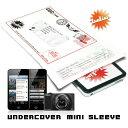 iPod・iPhone・デジカメなどガジェットの収納に【Undercover mini sleeve】【あす楽_土曜営業】腕時計とおもしろ雑貨のシンシア