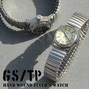 【ポイント10倍】 GS TP 腕時計 Flyer's 手巻き腕時計 メンズ腕時計 日本製 イギリス デザイン メイドインジャパン MMD01B MMD01C 蛇腹 エクステンションベルト ミリタリー 腕時計とおもしろ雑貨のシンシア MZ99