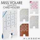 【安心と信頼の正規販売店】KLASSE14 クラス14 クラスフォーティーン クラッセ Miss Volare S/S 2017 Card holder カードホルダー パス..