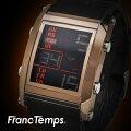 【レビュー7,400件以上】 メンズ腕時計 FrancTemps Huit フランテンプス ユイット 防水 軽量 ラバー...
