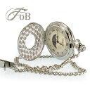 FOB クラシックで落ち着いた印象のサン&ムーン懐中時計 腕時計とおもしろ雑貨のシンシア プレゼント【メール便OK】【あす楽対応可】