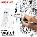 【SUCK UK/サックユーケー】ペーパーウォッチ / PAPER WATCH 【あす楽対応】