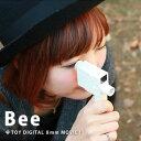 Bee/ビー 8mm トイ デジタルムービーカメラ【到着後レビューを書いて送料無料】 トイカメラ おもしろ雑貨/おもしろグッズ/ギフト【Mac・Win対応】 【あす楽対応】