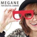 MEGANE CAMERA TOY DIGITAL CAMERA メガネトイデジタルカメラ トイカメラ 【Mac・Win対応】【あす楽_土曜営業】腕時計とおもしろ雑貨のシンシア【RCP】