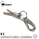 【Wichard/ウィチャード】wichard sailor carabiner S/ウィチャード セーラー カラビナ Sサイズ 金具【あす楽土曜営業】【メール便OK】腕時計とおもしろ雑貨のシンシア