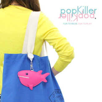 popkiller (pop killer ) CREATURE PASS CASE / クリーチャーパス case watch with fun rather than gadgets Cynthia