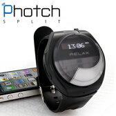 【ポイント10倍】Photch SPLIT フォッチ スプリット スマートフォンで着信 通話が出来る 送料無料 ウォッチ ブルートゥース 腕時計 bluetooth 時計 iPhone 脱着式 メンズ スマートウォッチ スマホ Smart watch プレゼント 【あす楽対応可】
