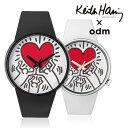 オーディーエム 送料無料 o.d.m DD134 odm + Keith HaringDD134-11DD134-12 キース・へリング メンズ レディース腕時...