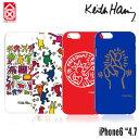 【CASE SCENARIOケースシナリオ】iPhone6 ケース キースヘリング ハードケース 4.7inch Keith Haring【メール便OK】 腕時計とおもしろ雑貨のシンシア プレゼント 【あす楽対応可】