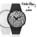 オーディーエム 送料無料 o.d.m DD134 odm + Keith Haring DD134-09DD134-10 キース・へリング メンズ レディース腕時計 腕時計のシンシア プレゼント 【あす楽対応可】