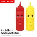 【KIKKERLANDキッカーランド】Max&Morris Ketchup &Mustardマックス&モリス ケチャップ&マスタード 調味料容器 腕時計とおもしろ雑貨..