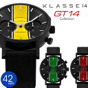 正規販売店 2年保証 KLASSE14 クラス14 42mm クロノグラフ 腕時計 GT14 CHRONOGRAPH VO15CH005M VO15CH006M...