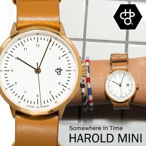CHEAPO/チーポスウェーデン北欧人気腕時計HAROLDMINIレザーベルト正規品【あす楽_土曜営業】メンズMen'sレディースうでどけいブランド腕時計のシンシア