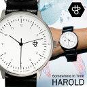 スウェーデンブランド「Cheapo(チーポ)」北欧で人気 腕時計 HAROLD ハロルド レザーベルト 正規品 メンズ レディース ユニセックス 14224CC プレゼント ギフト うでどけい ブランド