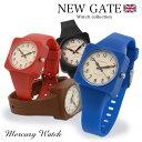 【NEW GATEニューゲート】 mercury マーキュリー 腕時計 アナログ メンズ レディース イギリス 腕時計とおもしろ雑貨のシンシア プレゼント 【あす楽対応可】