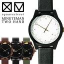 送料無料 新ブランド「squarestreet」から針のデザインが個性的な腕時計 イタリア製 ブランド プレゼント ギフト 個性的 TWO HAND MINUTEMAN クロック ミニットマン