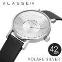 正規販売店 2年保証 KLASSE14 クラス14 クラッセ 腕時計 42mm VOLARE SILVER VO14SR001M ステンレス シルバー VOLA...