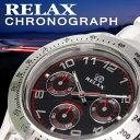 RELAXクリアウォッチシリーズ【送料無料】RELAX リラックス 腕時計 クロノアラビア