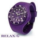 リラックスジー/RELAX-Gメンズレディースシリコン腕時計ダイバーTYPE【6000本突破!】腕時計のシンシア