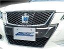 AMS クラウンアスリート GRS/AWS210系 フロントグリルカバー クリアランスソナー装着車 未塗装