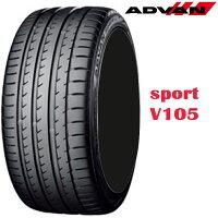 19インチ 295/35ZR19 100Y 4本 低燃費 タイヤ ヨコハマ アドバンスポーツV105E チューブレスタイヤ YOKOHAMA ADVAN sport V105E