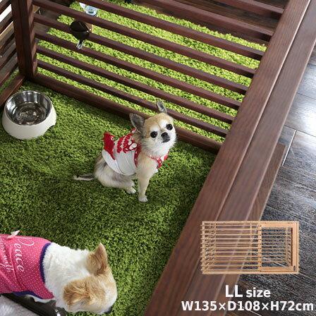 送料無料サークル犬犬用犬用品木製天然木木フェンスカートゲート柵室内屋内部屋犬小屋ハウスペットトイレ子