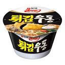 『農心(ノンシム)』天ぷらうどんカップ麺<韓国ラーメン>