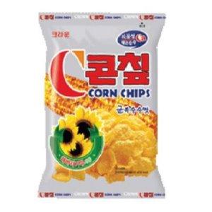 『クラウン』コーンチップ<韓国お菓子・韓国スナック>の商品画像