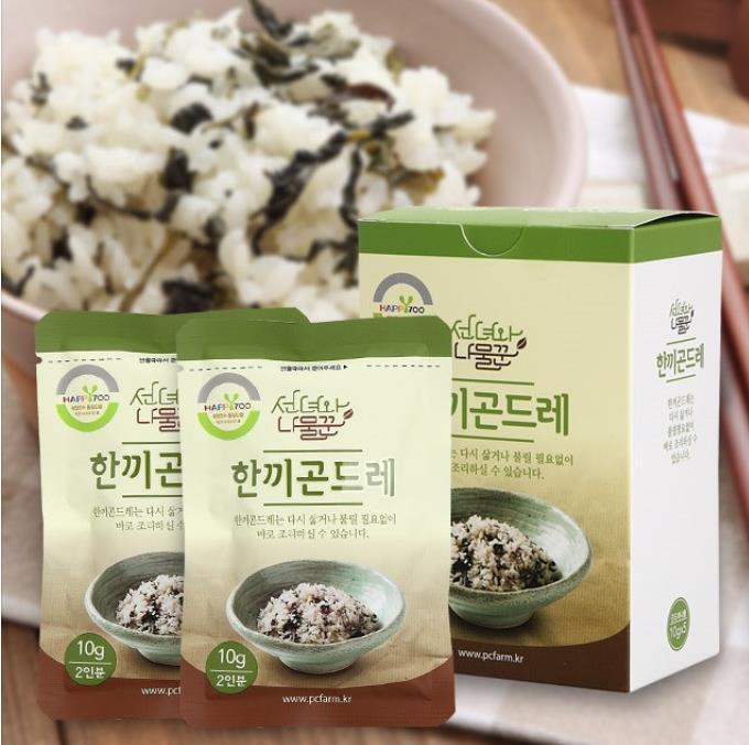ハンキ・ゴンドレ10g×1個(2人前)<韓国健康食品・ゴンドレ・韓国>メール便5個まで可能