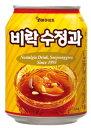 水晶果(シナモンジュース)(缶) 338ml <韓国ドリンク・韓国ジュース>
