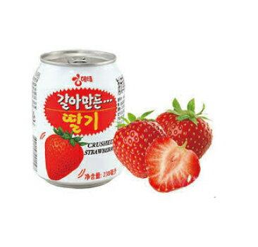 【ヘテ】いちごジュース238mi】<韓国ドリンク・韓国ジュース>
