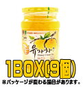 ●送料無料(沖縄・離島等は追加送料)●『オトギ(オットギ)』蜂蜜柚子茶(ゆず茶) 1kg(■BOX 9入) <韓国伝統茶・韓国健康茶・韓国食品>