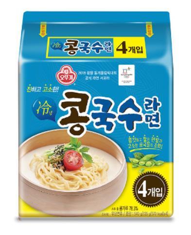 『オトッギ』★新販売★コングッス(冷豆麺)4個<韓国ラーメン・冷豆麺・コングッス>