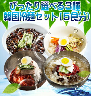 ● ● choice cold noodles set (-choose 3 pieces from 1 )