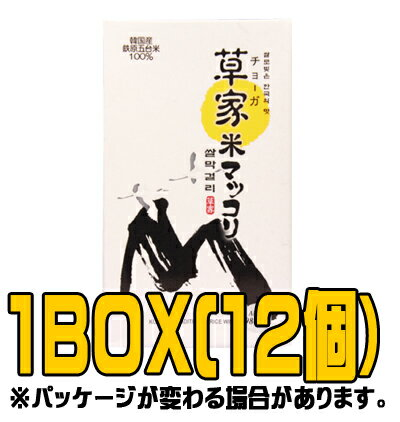 『草家』米マッコリ 980ml(■BOX 12入) <韓国どぶろく>