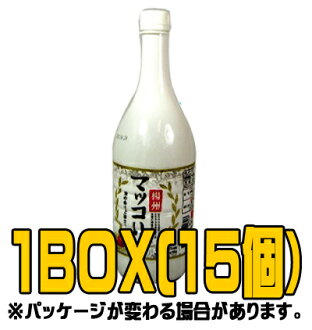 """State of Yang' pears makgeolli 1 L ( ■ BOX 15 pieces ) [Korea doburoku]"
