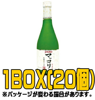 『眞露(ジンロ)』ジンロマッコリ 375ml(■BOX 20入) <韓国焼酎>