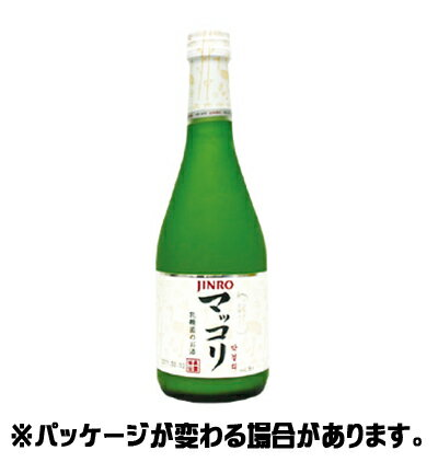 『眞露(ジンロ)』ジンロマッコリ 375ml <韓国焼酎>