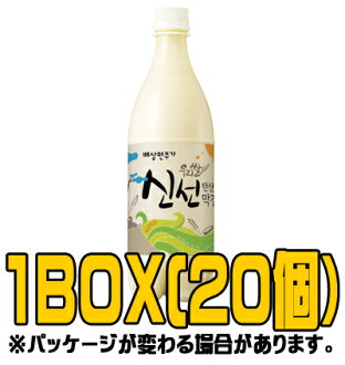 Fresh makgeolli 750 ml ( ■ BOX 20 pieces ) [Korea doburoku]