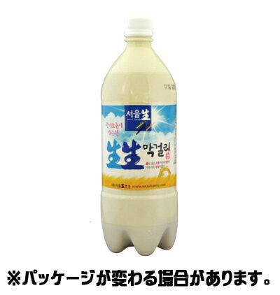 ソウル生生マッコリ 950ml <韓国どぶろく>