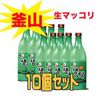 Busan raw rice (selection) 750 ml (▲ set 10 pieces) < doburoku Korea, Busan makgeolli, pesanmaccoli, Busan raw rice, cents and raw pollution and yet ditch >