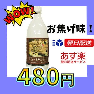 『抱川』一東黒豆マッコリ黒豆(ペット) 1000ml<韓国どぶろく>