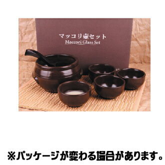 The finest マッコリ pot set