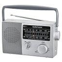 『家電』オーム電機 AM/FMポータブルラジオ RAD-F777Z 07-7777 ワイドFM 補完放送対応