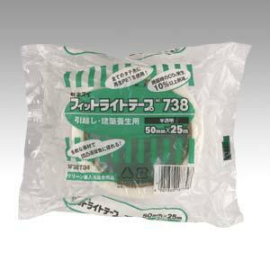 [セキスイ]フィットライトテープ#73850X25半透明(マスキング用テープ)