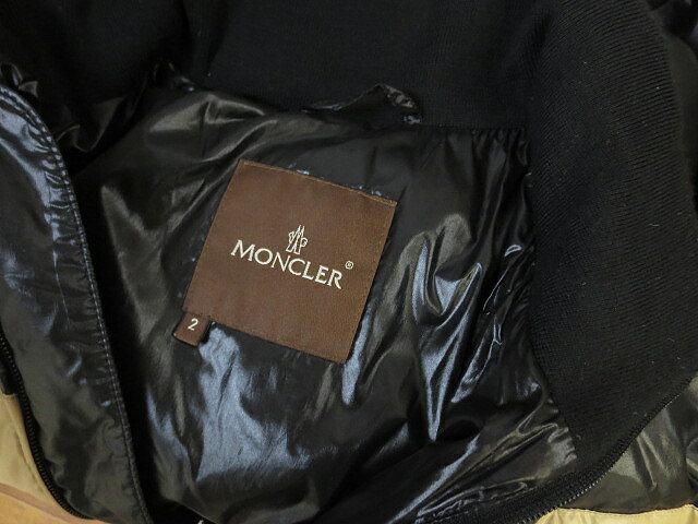 【MONCLER/モンクレール】 ダウン ジャケット CHINE シーヌ 茶タグ 2 F8 メンズ 【ベクトル 古着】【中古】 150305