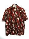 東洋スターオブハリウッド 半袖オープンカラーシャツ PIERROT SH36951 L/FG 【ベクトル 古着】【中古】 160824