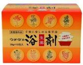 【ウチダ和漢薬】【生薬】ウチダの浴剤30g×10包【コンビニ受取対応商品】